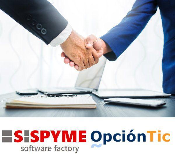 Sispyme y Opción TIC firman un acuerdo de colaboración